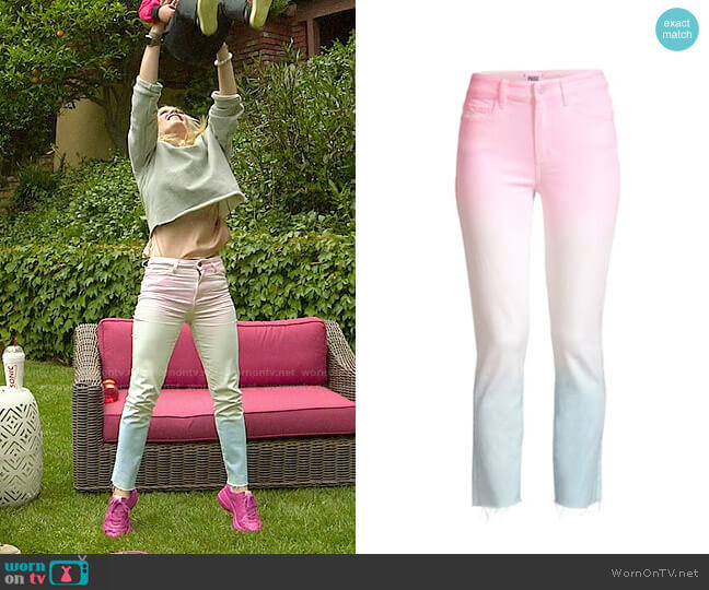 Paige Hoxton Sunset Ombre Jeans worn by Heidi Montag  on The Hills New Beginnings