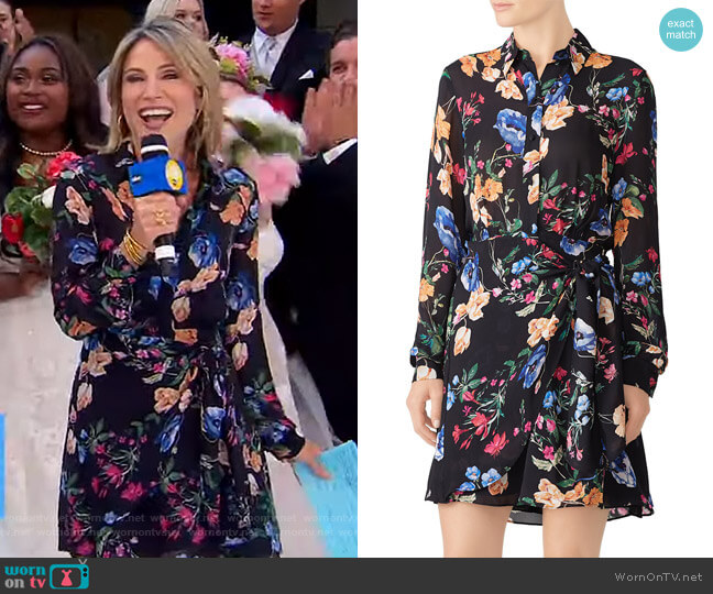 Ora Dress by Parker worn by Amy Robach  on Good Morning America