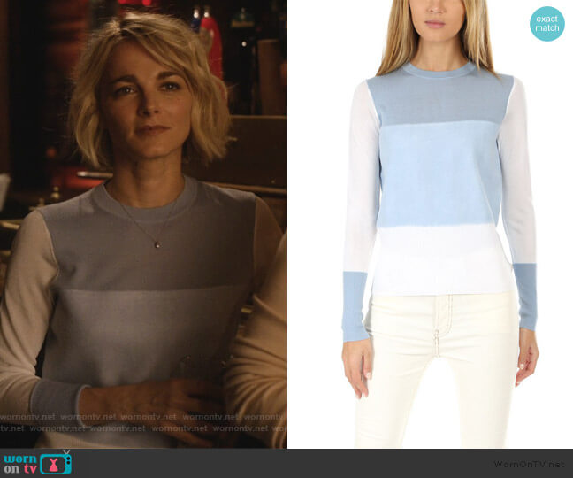 Marissa Crew Sweater by Rag and Bone worn by Lizzie Needham (Bojana Novakovic) on Instinct