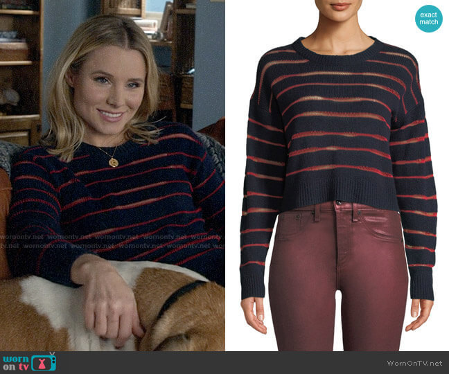 Rag & Bone Penn Sweater worn by Veronica Mars (Kristen Bell) on Veronica Mars