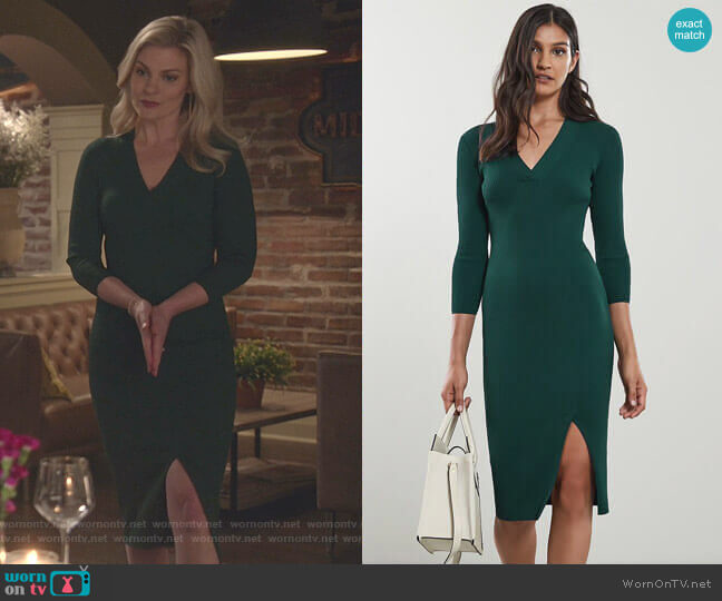 Aletti Dress by Reiss worn by Stephanie Borden (Kylee Evans) on Good Witch