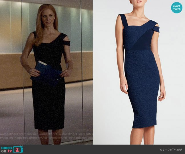 Roland Mouret Elsom Dress worn by Donna Paulsen (Sarah Rafferty) on Suits