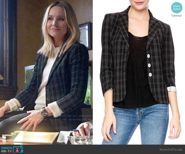 Ron Herman Schoolboy Blazer worn by Veronica Mars (Kristen Bell) on Veronica Mars
