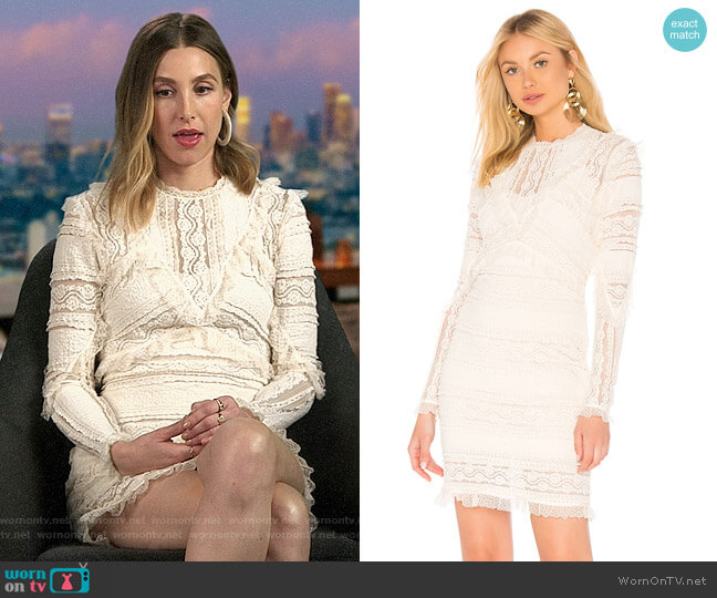 Ronny Kobo Sunny Dress worn by Whitney Port  on The Hills New Beginnings