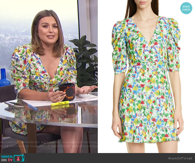 Colette Minidress by Saloni worn by Carissa Loethen Culiner  on E! News