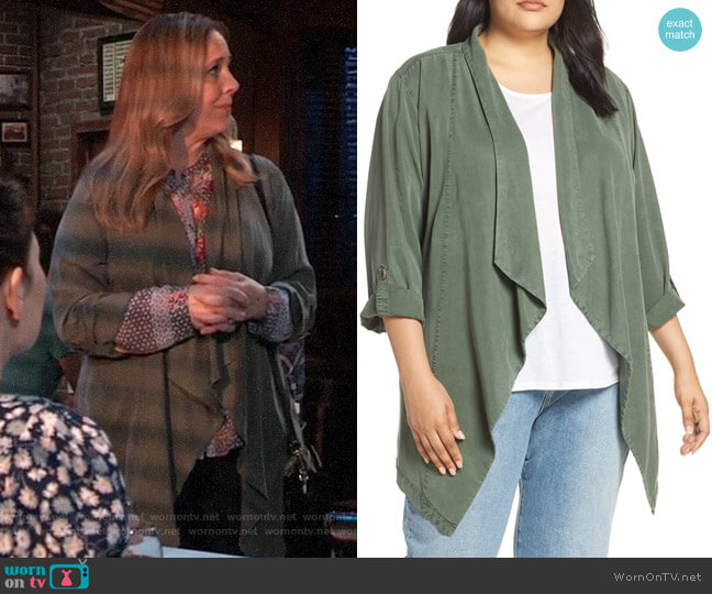 Sanctuary On The Go Jacket worn by Laura Collins (Genie Francis) on General Hospital