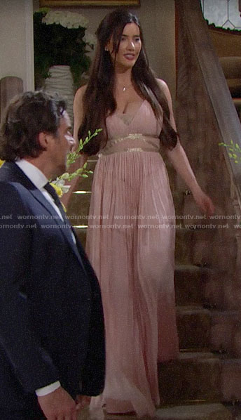 Steffy's maid of honor dress on The Bold and the Beautiful