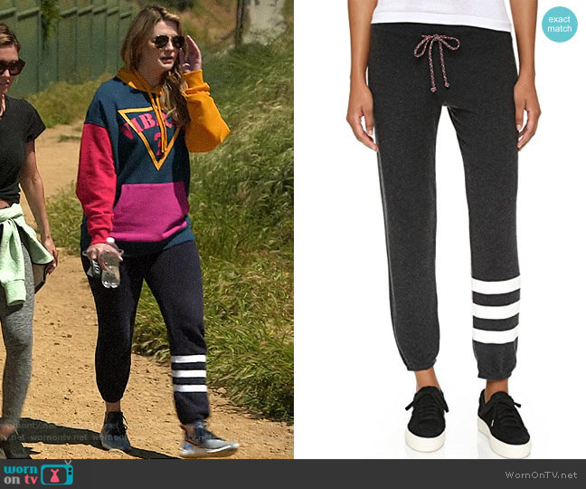 Sundry Cozy Stripe Sweatpants worn by Mischa Barton  on The Hills New Beginnings