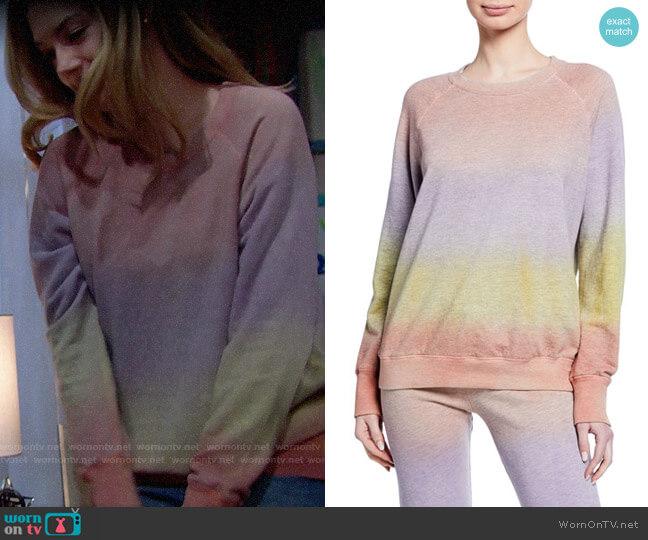 Sundry Raglan Pullover Sweatshirt worn by Hope Logan (Annika Noelle) on The Bold & the Beautiful