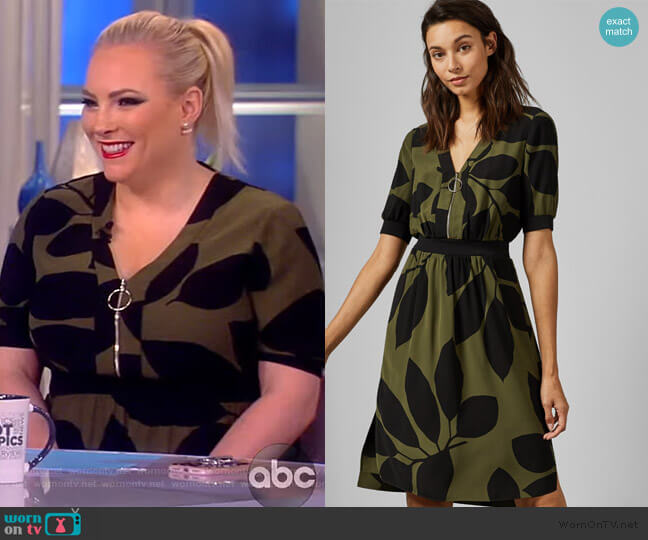 Telavee Dress by Ted Baker worn by Meghan McCain  on The View