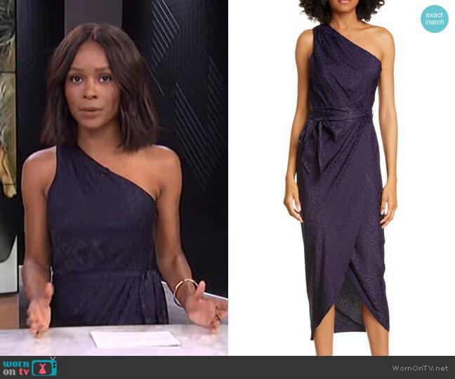 Zoeii Dress by Ted Baker worn by Zuri Hall  on E! News