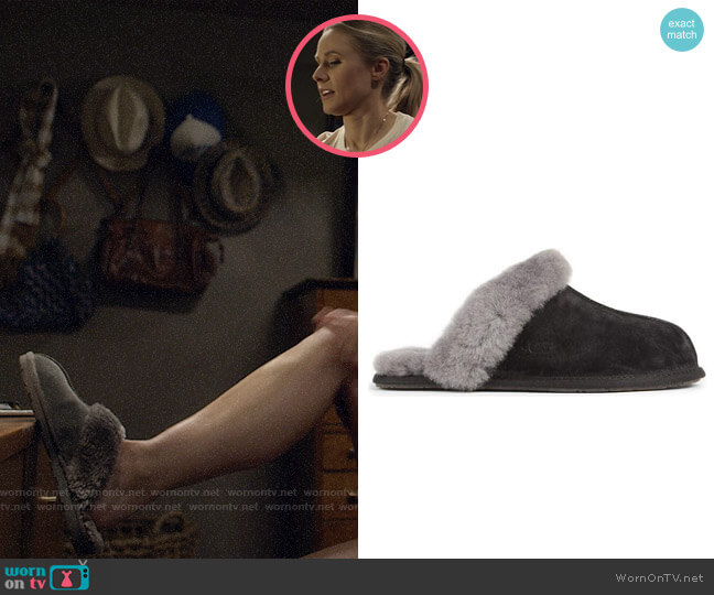 Ugg Scuffette Slippers worn by Veronica Mars (Kristen Bell) on Veronica Mars