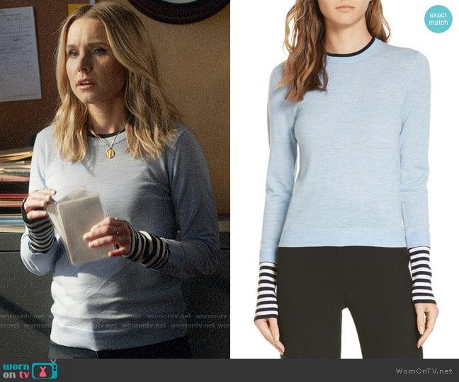Veronica Beard Avory Sweater worn by Veronica Mars (Kristen Bell) on Veronica Mars