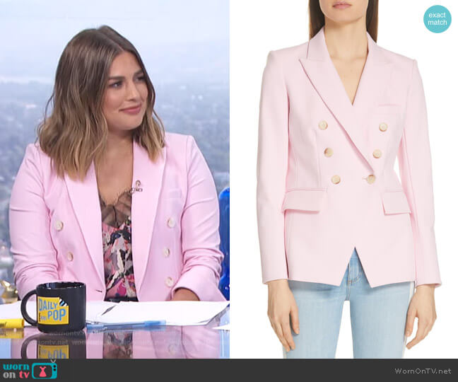Lonny Dickey Jacket by Veronica Beard worn by Carissa Loethen Culiner  on E! News