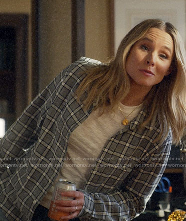 Veronica's grey checked shirt on Veronica Mars