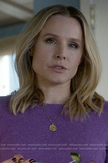 Veronica's coin pendant necklace on Veronica Mars