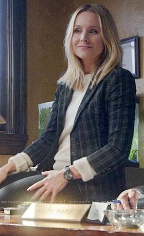 Veronica's plaid blazer on Veronica Mars