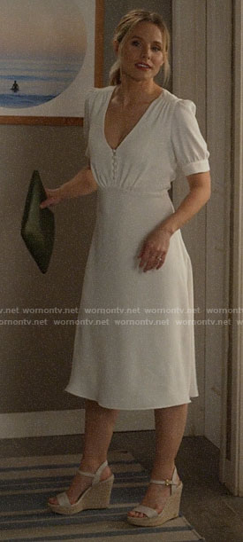 Veronica's wedding dress on Veronica Mars