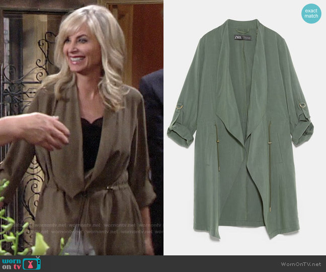 zara 7735/703 worn by Ashley Abbott (Eileen Davidson) on The Young & the Restless