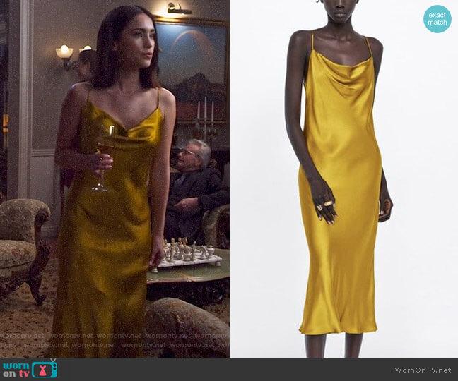 Zara Strappy Dress worn by Jax (Priscilla Quintana) on Pandora