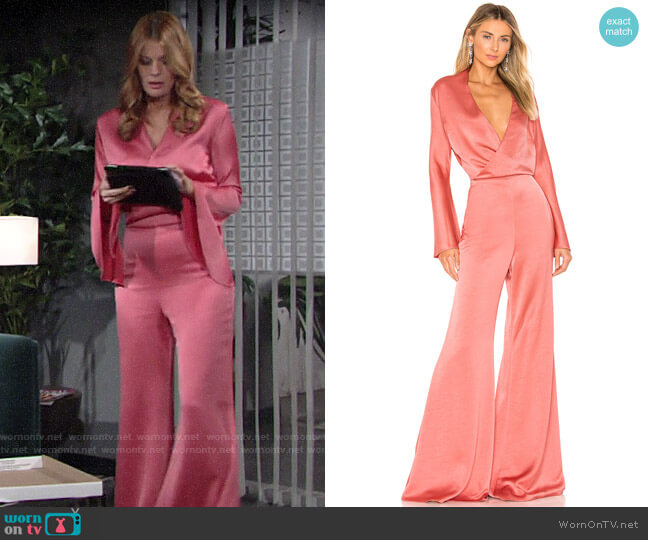 Alexis Raine Jumpsuit  worn by Phyllis Summers (Michelle Stafford) on The Young & the Restless