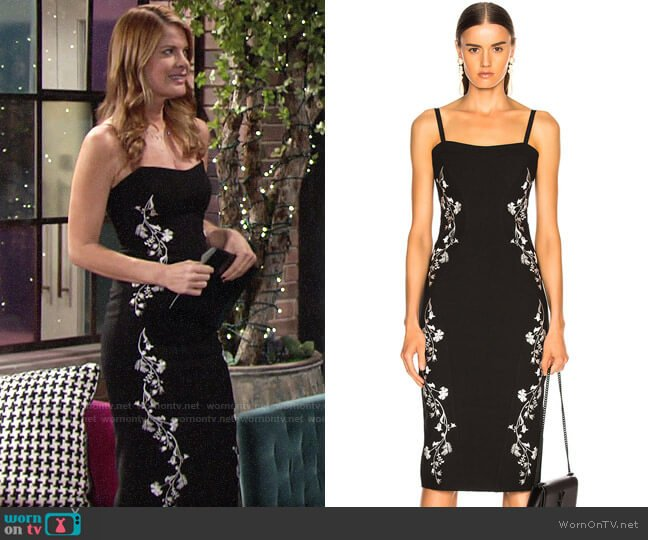 Cinq a Sept Chloe Dress worn by Phyllis Summers (Michelle Stafford) on The Young & the Restless