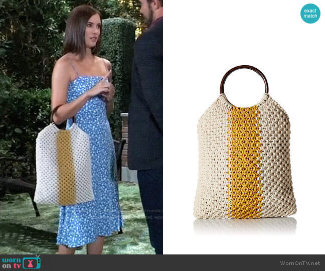 Circus by Sam Edelman Veronica Bag worn by Willow Tait (Katelyn MacMullen) on General Hospital