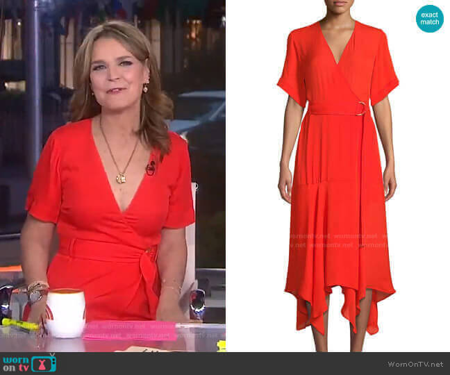 Claire Dress by A.L.C. worn by Savannah Guthrie  on Today