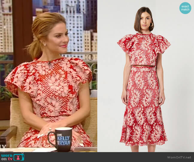Valentina Set by Elliatt Collective worn by Maria Menounos on Live with Kelly and Ryan