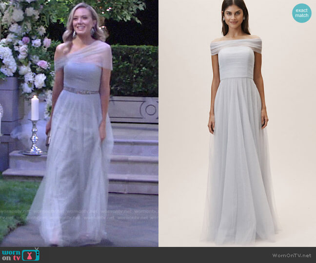 Jenny Yoo Ryder Convertible Dress worn by Abby Newman (Melissa Ordway) on The Young & the Restless