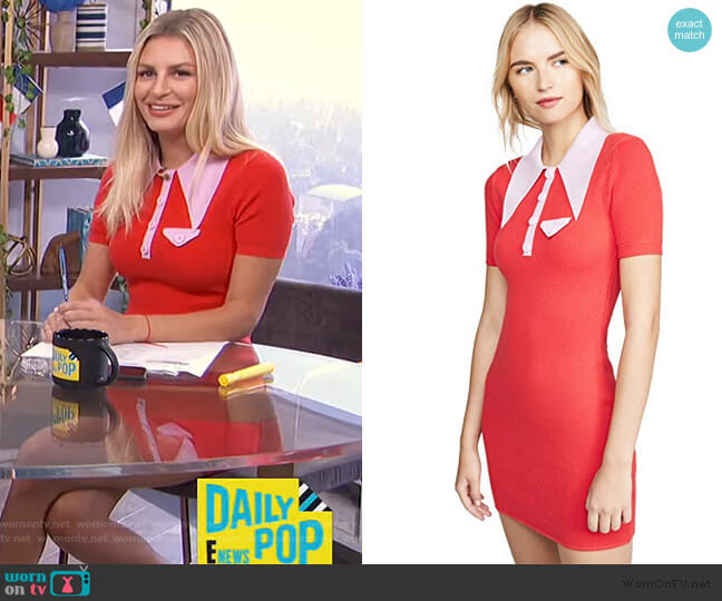 Polo Mini Dress by JoosTricot worn by Morgan Stewart  on E! News