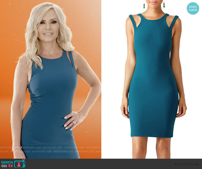 Myrtle Green Chrystie Dress by Likely worn by Tamra Judge  on The Real Housewives of Orange County