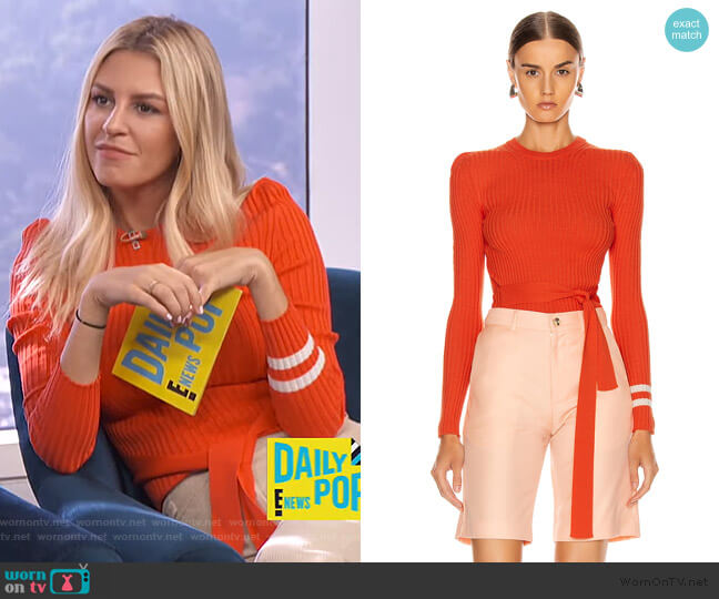 Nearly There Sweater by Maggie Marilyn worn by Morgan Stewart  on E! News