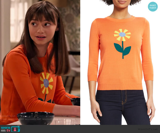 Sunflower Sweater by Modcloth worn by Molly (Lauren Lindsey Donzis) on No Good Nick
