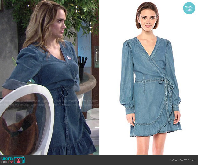 Paige Kendry Dress worn by Summer Newman (Hunter King) on The Young & the Restless