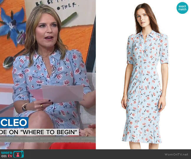Pike Dress by Veronica Beard  worn by Savannah Guthrie  on Today