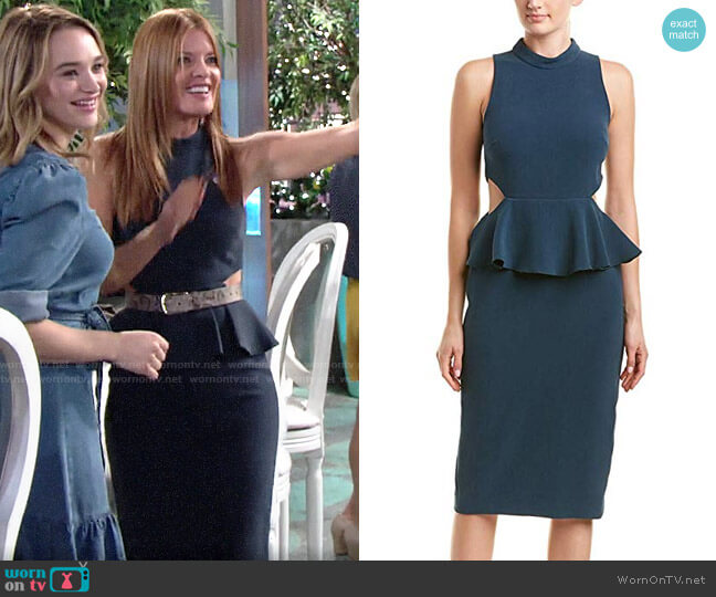Rachel Zoe Karyn Dress worn by Phyllis Summers (Michelle Stafford) on The Young & the Restless