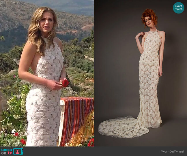 Lolita Gown by Randi Rahm worn by Hannah Brown  on The Bachelorette