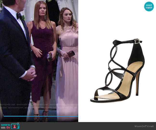 Schutz Rania Sandals worn by Phyllis Summers (Michelle Stafford) on The Young & the Restless