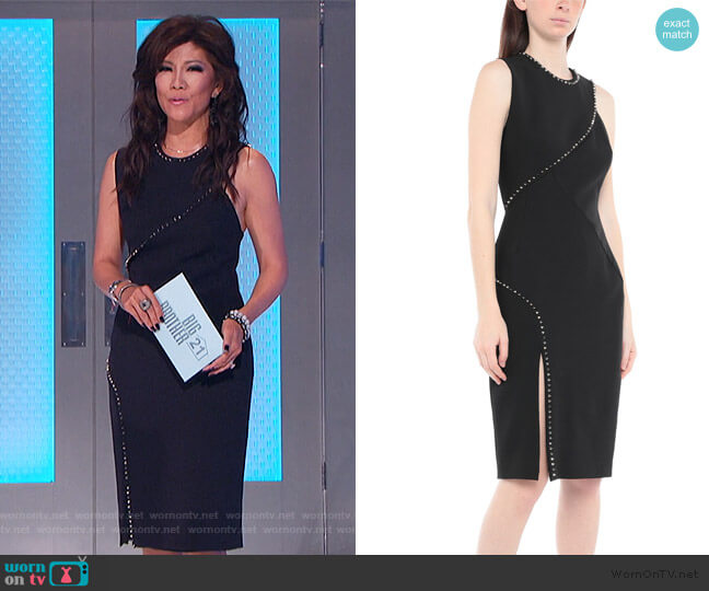 Knee-length Dress by Versace worn by Julie Chen  on Big Brother