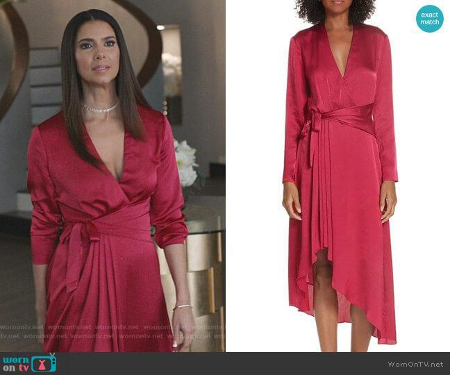 Adisa Dress by Equipment worn by Gigi Mendoza (Roselyn Sánchez) on Grand Hotel