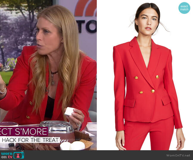 Hendrick Blazer by A.L.C. worn by Jill Martin  on Today
