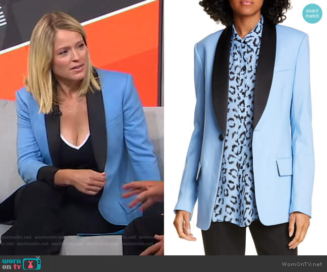 Oren Jacket by A.L.C. worn by Sara Haines  on Good Morning America