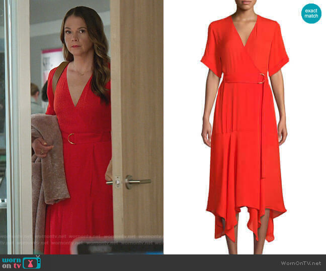 Claire Dress by A.L.C. worn by Liza Miller (Sutton Foster) on Younger