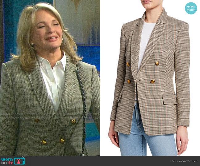 A.L.C Sedgwick Blazer worn by Marlena Evans (Deidre Hall) on Days of our Lives