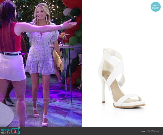 Bcbgmaxazria Elyse Sandals worn by Abby Newman (Melissa Ordway) on The Young & the Restless