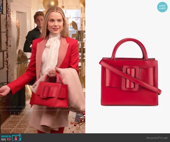Boyy Bobby Bag worn by Ainsley Howard (Rebecca Rittenhouse) on Four Weddings & a Funeral