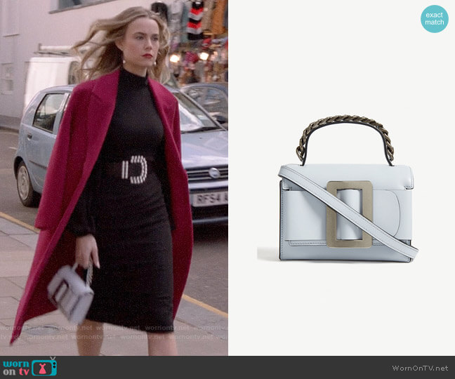 Boyy Fred Bag worn by Ainsley Howard (Rebecca Rittenhouse) on Four Weddings & a Funeral