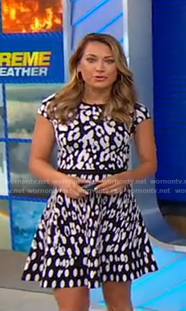 Ginger's leopard print dress on Good Morning America
