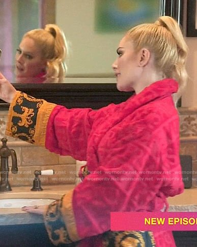 Heidi's plush Versace robe on The Hills New Beginnings